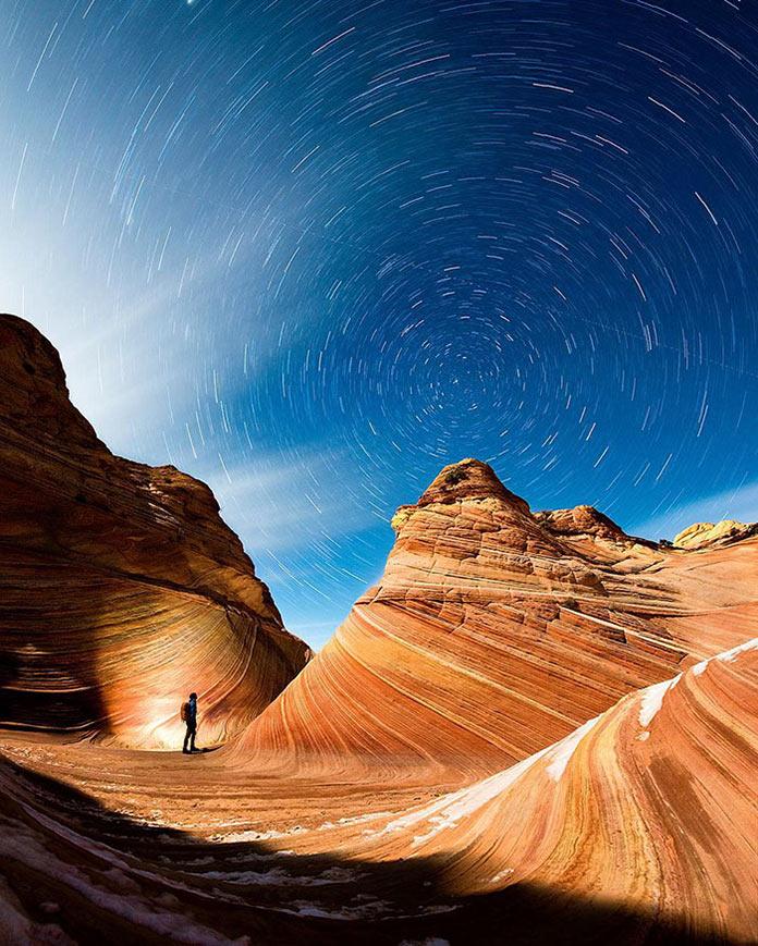Звезды закружились над каньоном