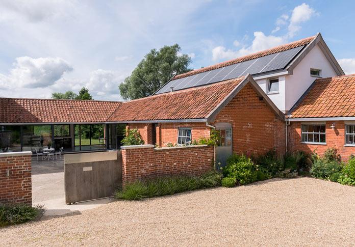 Интерьер деревенского дома в британской провинции