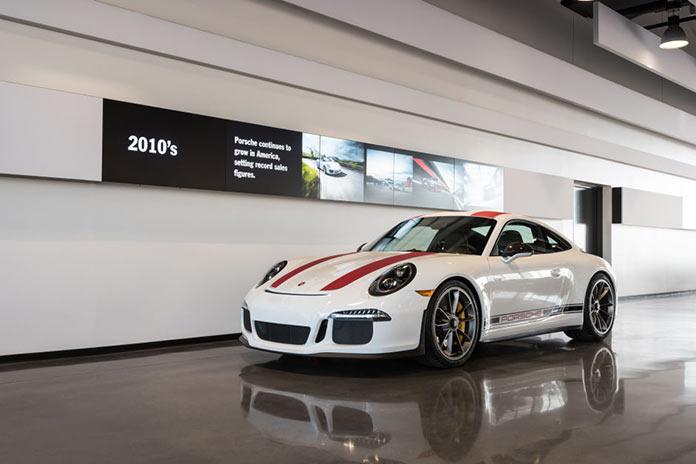Porsche Experience Center in California