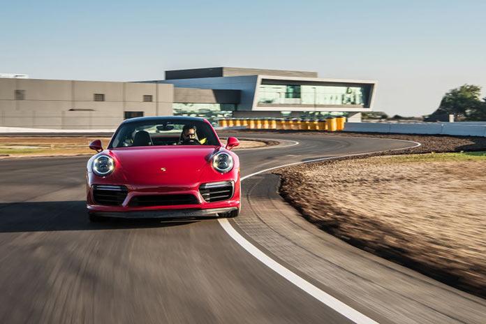 Test Drive in Porsche Experience Center in California
