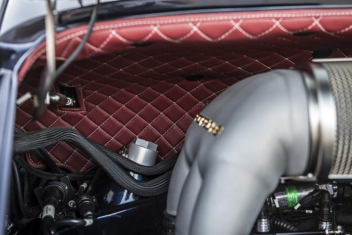 Моторный отсек Porsche 911 Monaco by Singer Vehicle Design