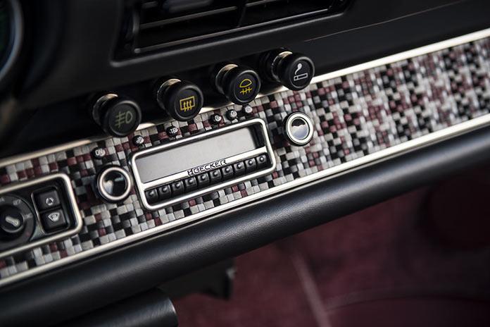 Радио. Porsche 911 Monaco by Singer Vehicle Design