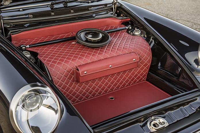 Багажный отсек. Porsche 911 Monaco by Singer Vehicle Design