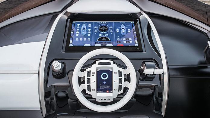 Lexus Sport Yacht Concept Control Panel