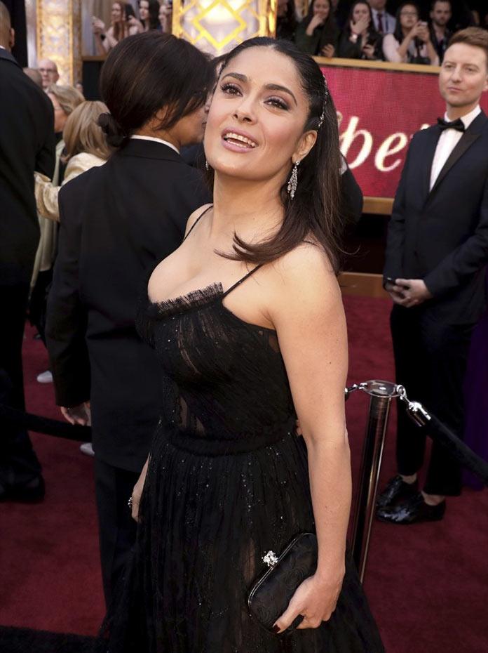 Сальма Хайек прибыла на церемонию Оскар 2017