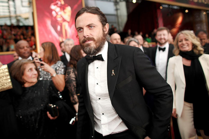 Кейси Аффлек прибыл на 89 церемонию Оскар