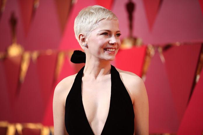 Мишель Уильямс прибыла на Оскар 2017