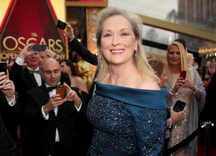 Мэрил Стрип прибыла на 89 церемонию вручения премии Оскар 2017