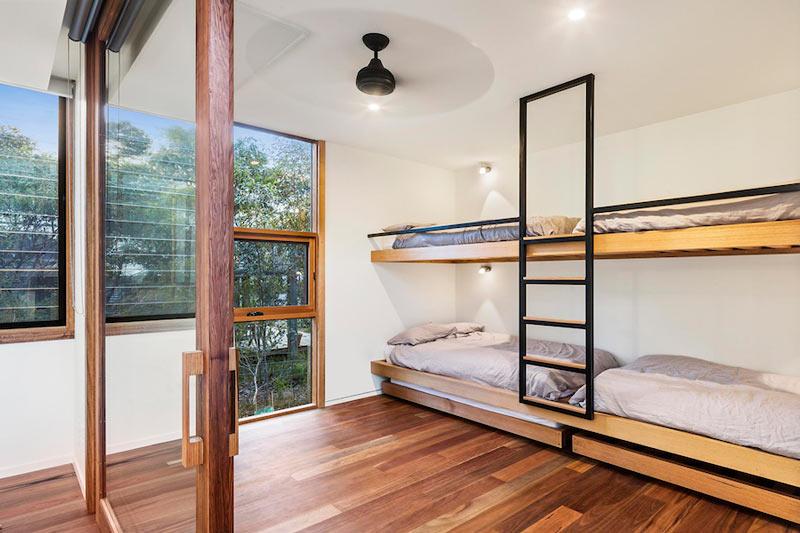 LightHouse - пляжный дом в Австралии, гостевая спальня