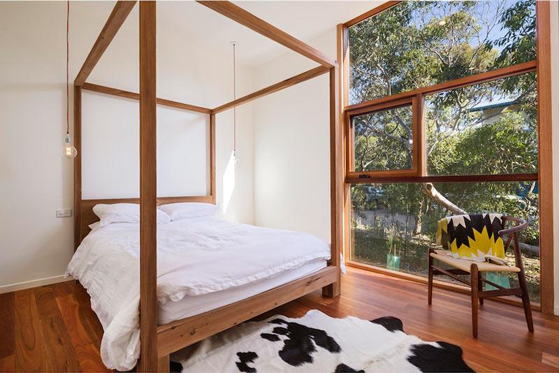 LightHouse - пляжный дом в Австралии, спальня хозяев