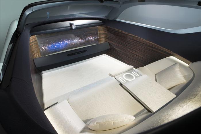 Концепт Rolls-Royce 103EX, салон