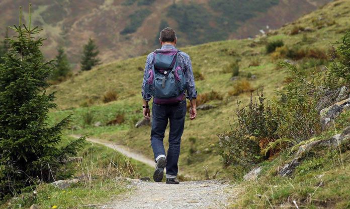 Путник в горах