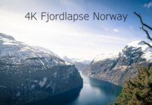 4K Fjordlapse Norway