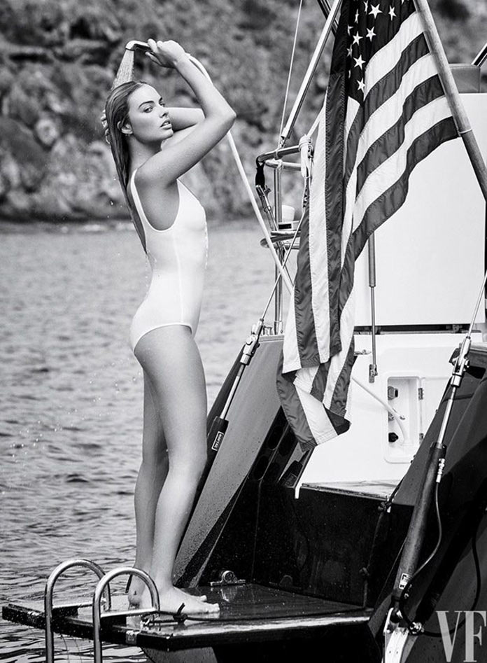 Марго Робби августовском выпуске Vanity Fair