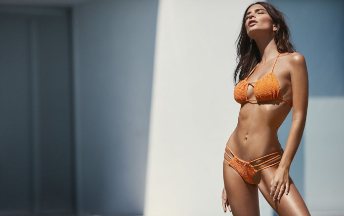 Emily Ratajkowski for Amore&Sorvete bikinis