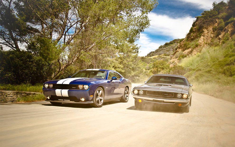 Classic Dodge Challenger Vs Modern Version