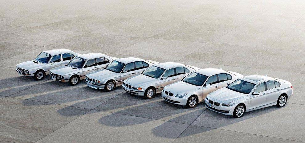 BMW 5-Series Evolution