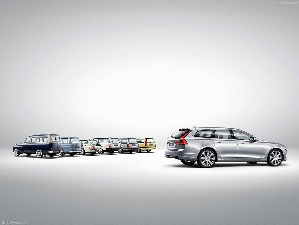 Classic Volvo Vs Modern Version. Evolution