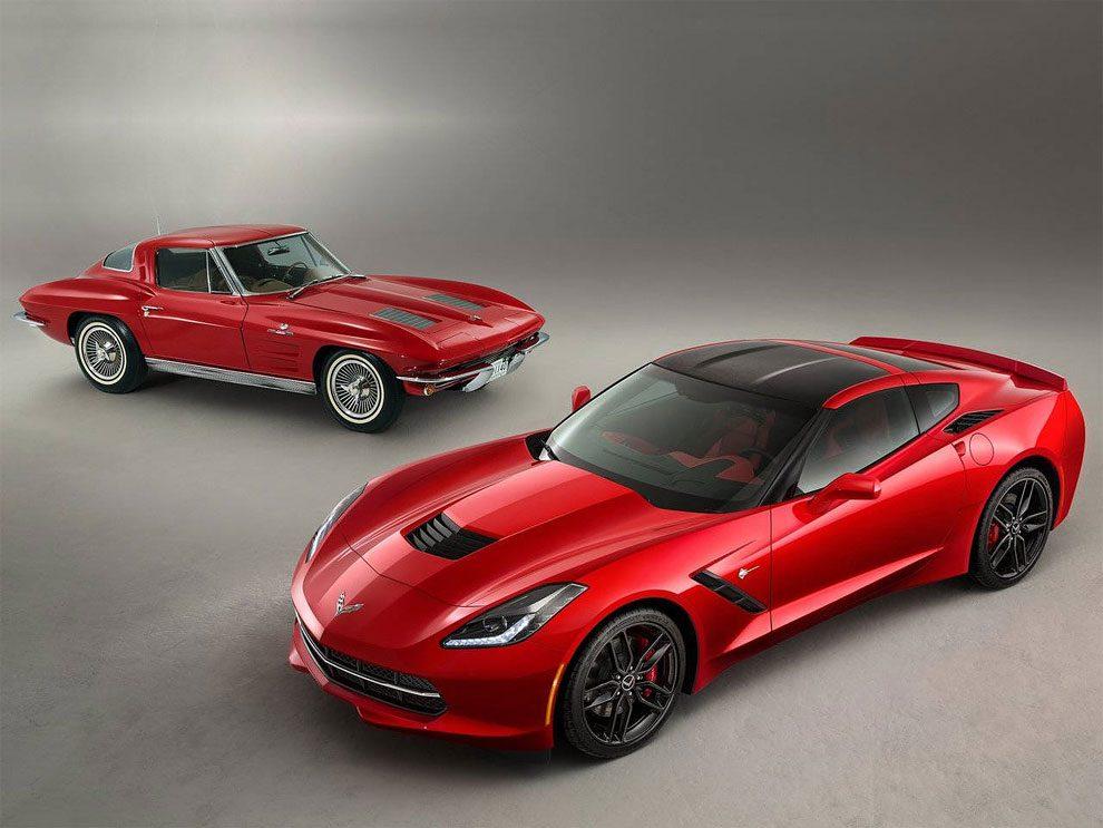 Classic Corvette Vs Modern Version