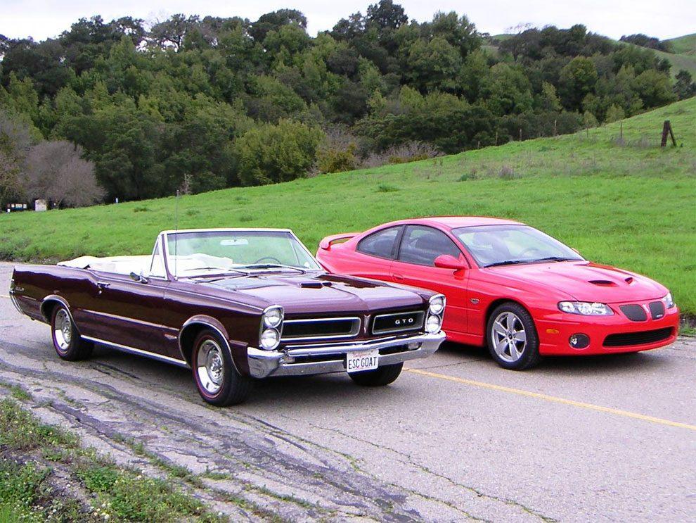 Classic Pontiac Vs Modern Version
