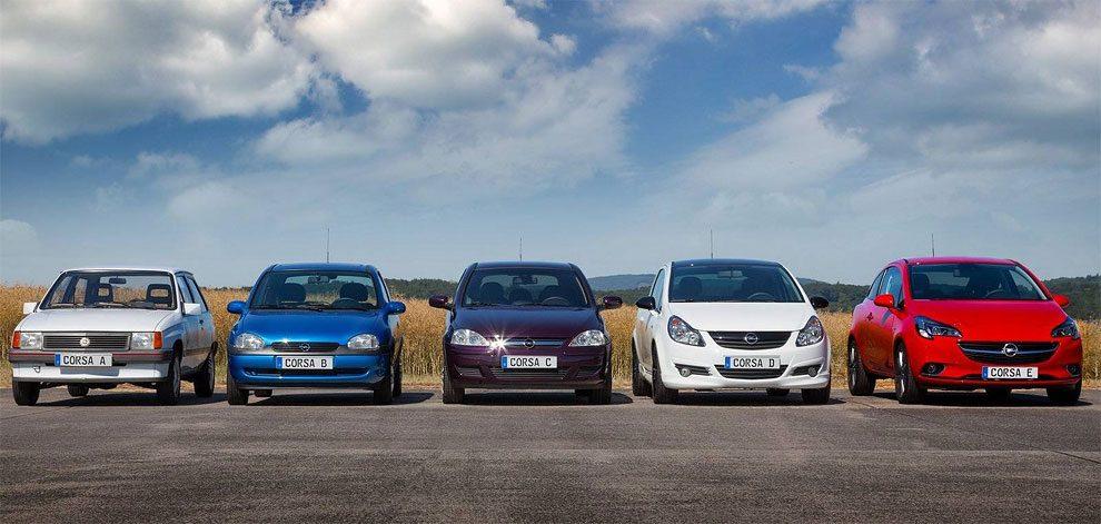 Opel Corsa Evolution