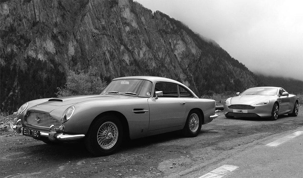 Classic Aston Martin Vs Modern Version