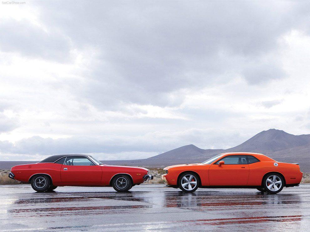 Vintage Dodge Challenger Vs Their Modern Version
