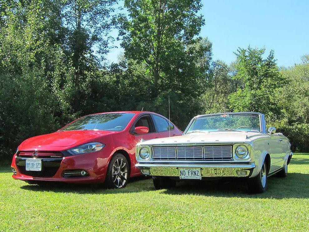Classic Dodge Vs. Modern Versions