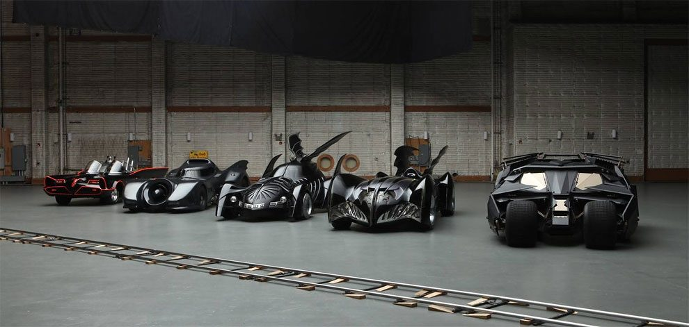 Batman Cars evolution/Batmobile