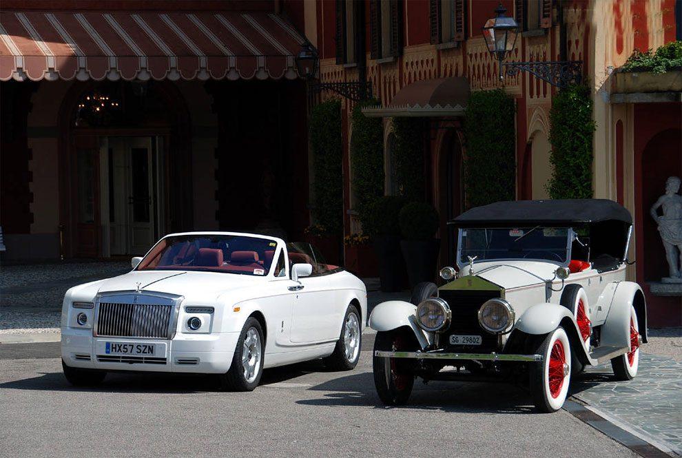 Vintage Rolls-Royce Vs Modern Version