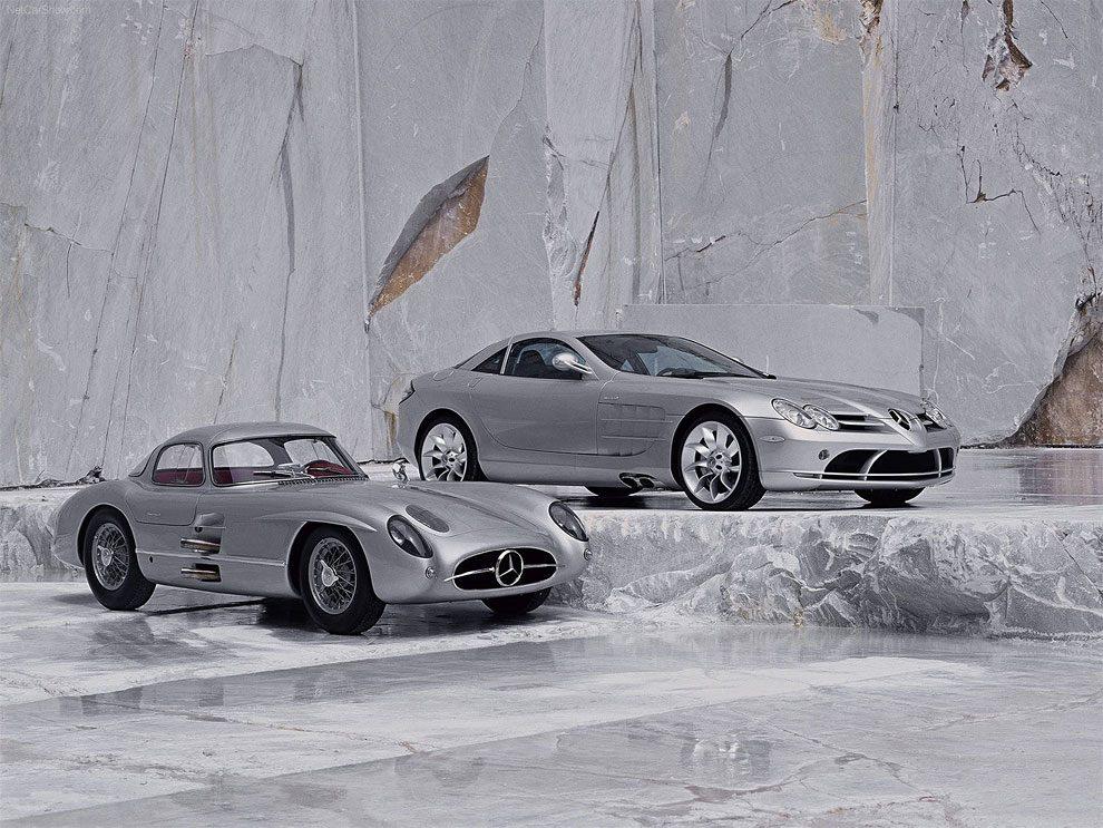 Classic Mercedes Vs. Modern Versions