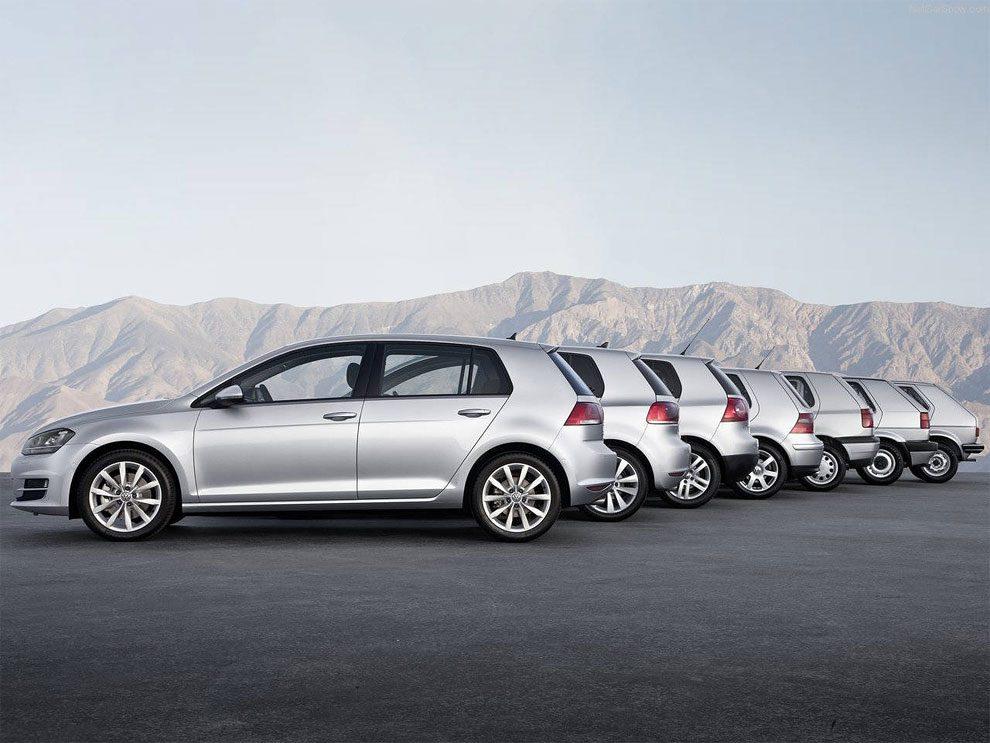 Volkswagen Golf Evolution