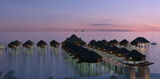Надводные бунгало отеля El Dorado Maroma на Ривьере Майя в Мексике