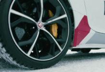 Jaguar F-Type Ice Dance