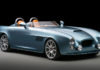 Bristol Bullet roadster. Right side view