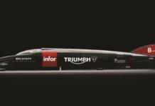 Triumph Infor Rocket Streamliner
