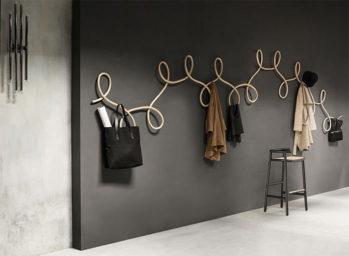 GamFratesi coat hanger inspired by waltz dancing
