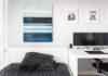 Black and White Workspace Setup