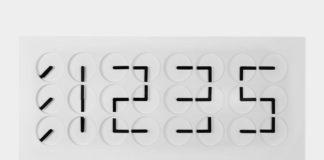 Дизайнерские настенные часы Clock Clock 24 от шведской студии кинетического искусства Humans since 1982