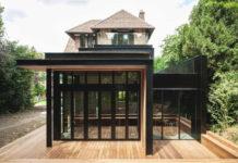 Минималистичный интерьер дома во французской провинции