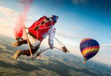 Мега-качели не высоте 1800 метров