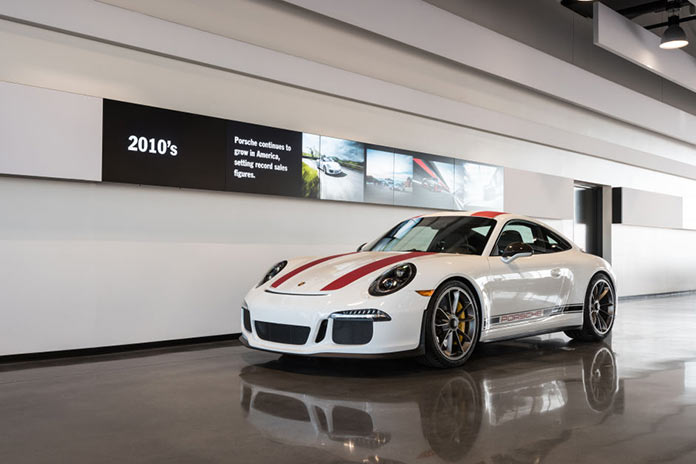 Porsche Experience Center in California