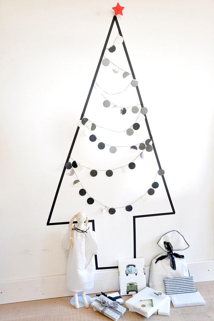 Новогодний декор своими руками, идеи новогоднего декора квартиры 2017