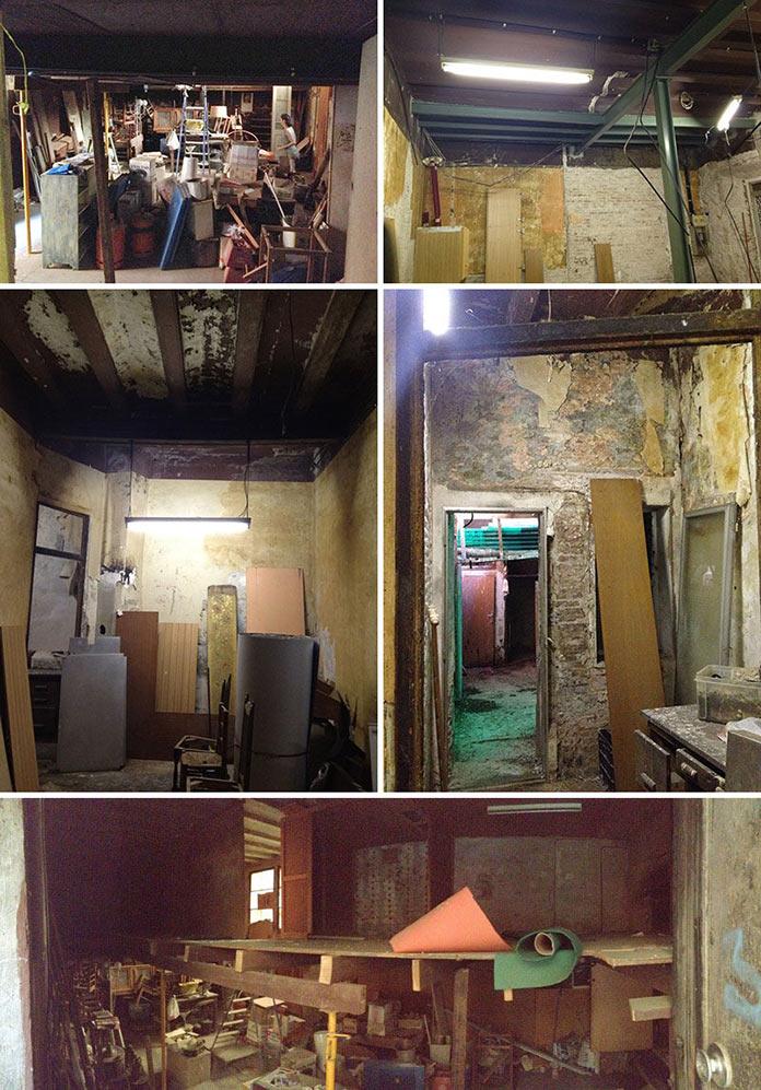 Старая столярная мастерская. Переделка квартиры из столярной мастерской