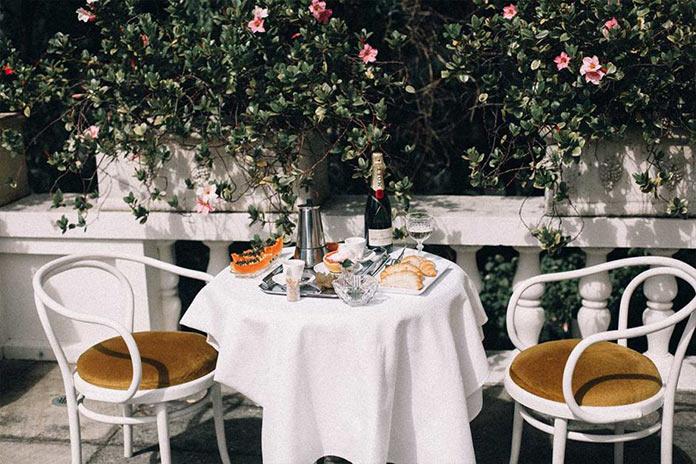 Ресторан. На итальянской ривьере, рекламная съемка для бренда Venroy