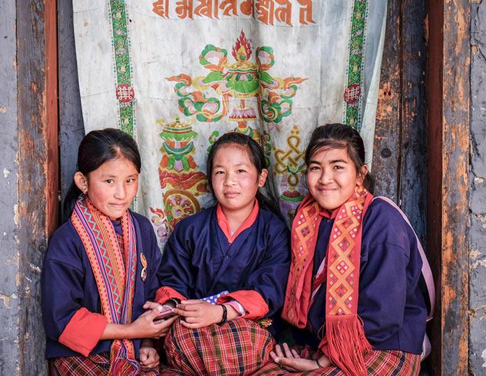 Женщины. Этническая жизнь в Бутане. Bhutan Life