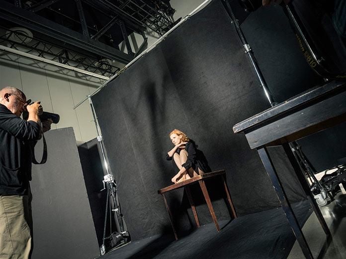 Джессика Честейн, бэкстейдж съемок для календаря Pirelli 2017