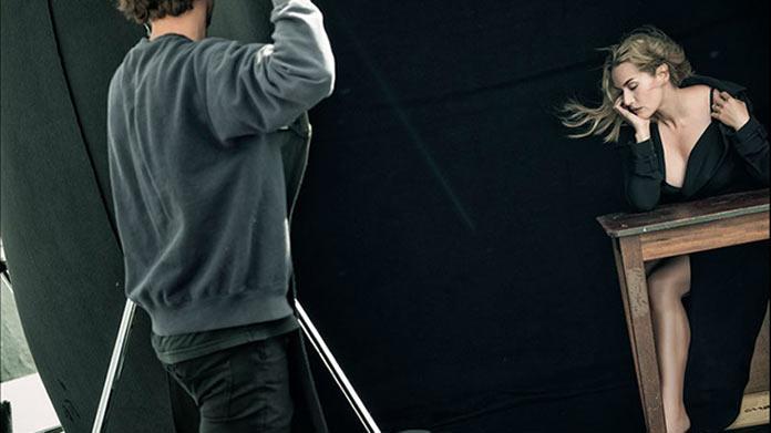 Кейт Уинслет, бэкстейдж съемок для календаря Pirelli 2017