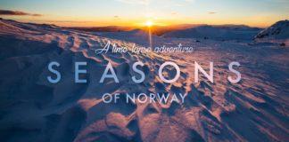 Времена года в Норвегии - красивое таймлапс-видео