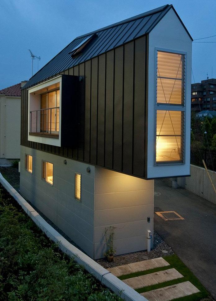 Мини-дом в Японии, проект Mizuishi Architects Atelier